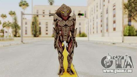 Mass Effect 3 Collector Awakened Adept MP pour GTA San Andreas deuxième écran