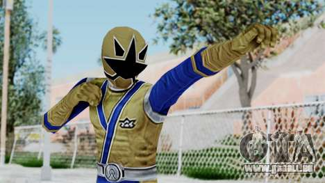 Power Rangers Samurai - Gold pour GTA San Andreas