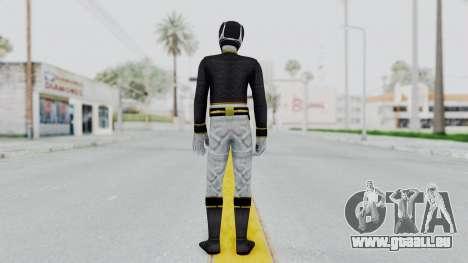 Power Rangers Megaforce - Black pour GTA San Andreas troisième écran