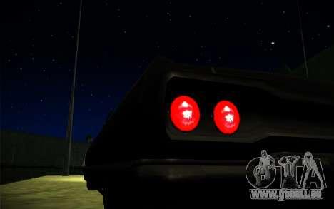 ENB Series by TURBO MIX pour GTA San Andreas quatrième écran