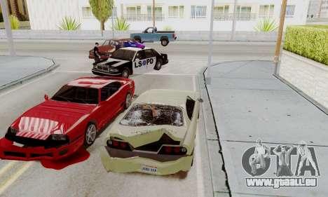 Rufen Sie die Polizei im Falle eines Unfalls für GTA San Andreas