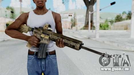 HK416A5 Assault Rifle pour GTA San Andreas troisième écran