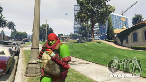 GTA 5 Teenage mutant ninja turtles deuxième capture d'écran