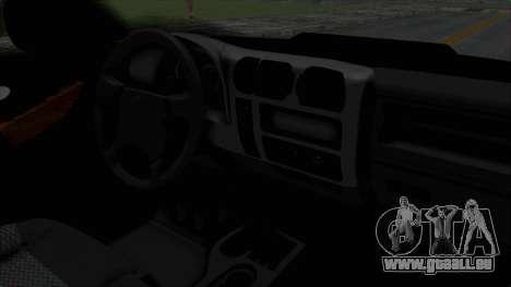 Chevrolet S10 Policia Caminera Paraguaya pour GTA San Andreas vue de droite