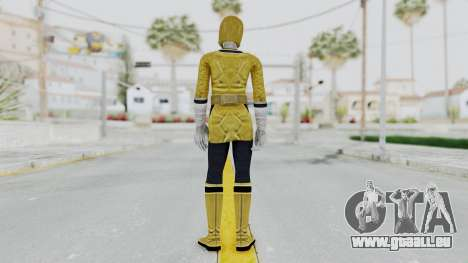 Power Rangers Samurai - Yellow für GTA San Andreas dritten Screenshot