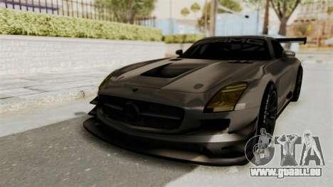 Mercedes-Benz SLS AMG GT3 PJ4 pour GTA San Andreas