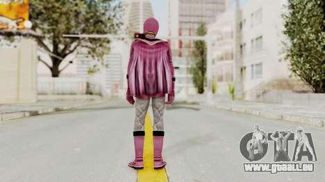 Power Rangers Mystic Force - Pink für GTA San Andreas dritten Screenshot