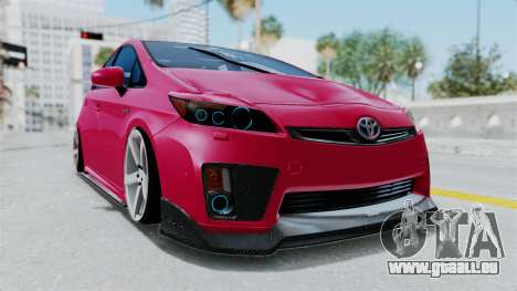 Toyota Prius 2011 Elegant Modification für GTA San Andreas