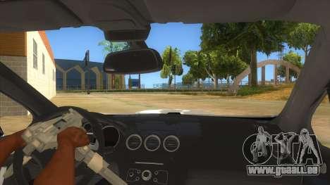 Peugeot 308 Full Sport pour GTA San Andreas vue intérieure