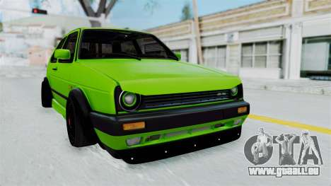 Volkswagen Golf Mk2 R36 pour GTA San Andreas