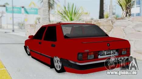 Tofas Dogan pour GTA San Andreas laissé vue