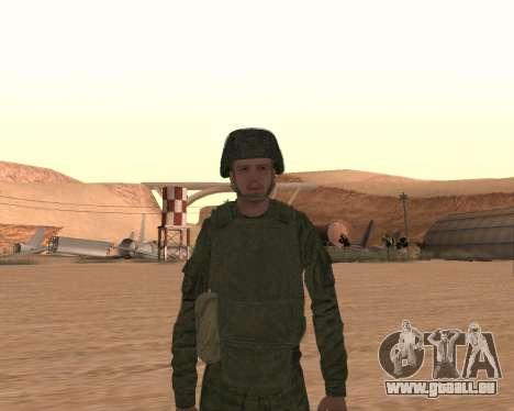 Privé d'infanterie motorisée de troupes pour GTA San Andreas septième écran