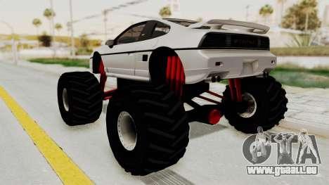 Pontiac Fiero GT G97 1985 Monster Truck pour GTA San Andreas laissé vue