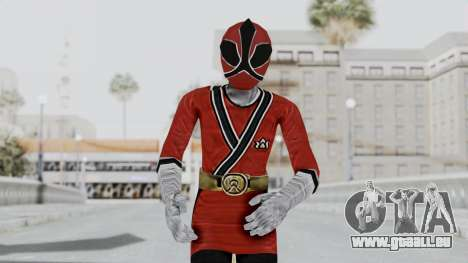 Power Rangers Samurai - Red 2 pour GTA San Andreas