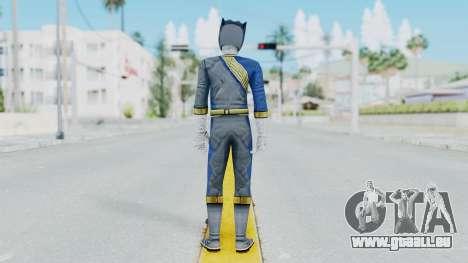 Power Rangers Wild Force - Wolf für GTA San Andreas dritten Screenshot