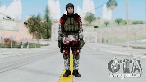 Black Mesa - Wounded HECU Marine v3 pour GTA San Andreas deuxième écran
