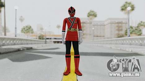 Power Rangers Samurai - Red 2 pour GTA San Andreas deuxième écran
