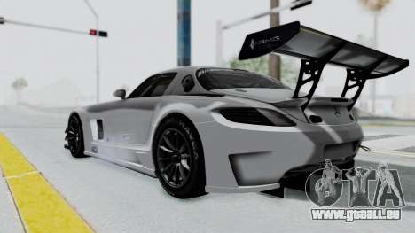 Mercedes-Benz SLS AMG GT3 PJ7 pour GTA San Andreas laissé vue
