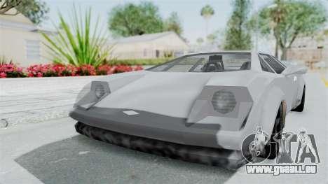 GTA Vice City - Infernus pour GTA San Andreas