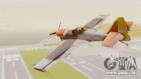 Zlin Z-50 LS v5 pour GTA San Andreas laissé vue