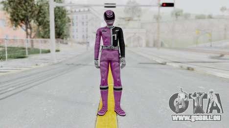 Power Rangers S.P.D - Pink für GTA San Andreas zweiten Screenshot