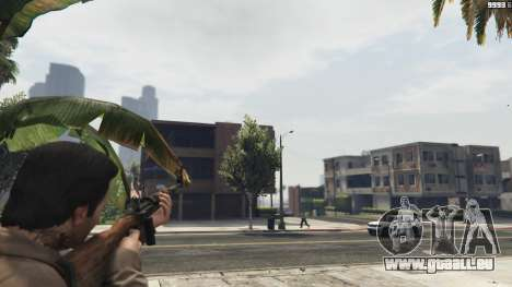 GTA 5 Bioshock Infinite - Carbine Rifle deuxième capture d'écran