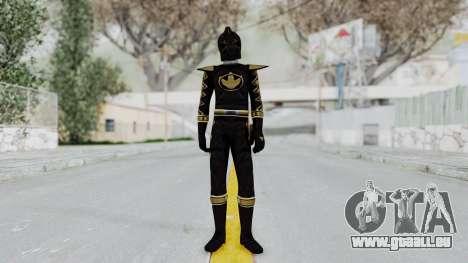 Power Rangers Dino Thunder - Black pour GTA San Andreas deuxième écran