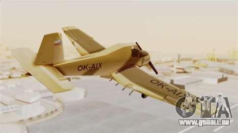 Z-37 Cmelak für GTA San Andreas rechten Ansicht