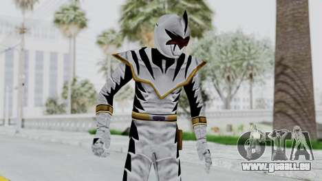 Power Rangers Dino Thunder - White für GTA San Andreas