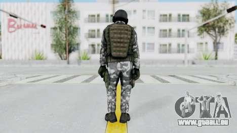 Black Mesa - HECU Marine v2 pour GTA San Andreas troisième écran