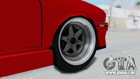 Dacia 1310 Tuning pour GTA San Andreas sur la vue arrière gauche