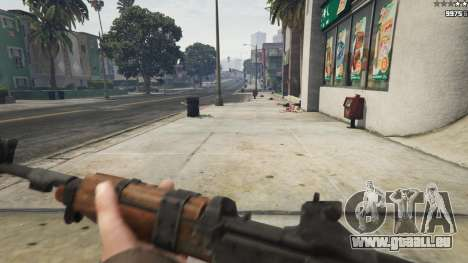 GTA 5 Bioshock Infinite - Carbine Rifle sixième capture d'écran