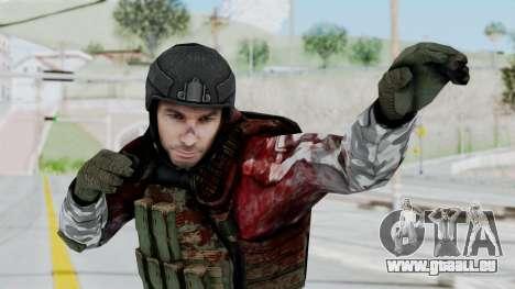 Black Mesa - Wounded HECU Marine v3 pour GTA San Andreas