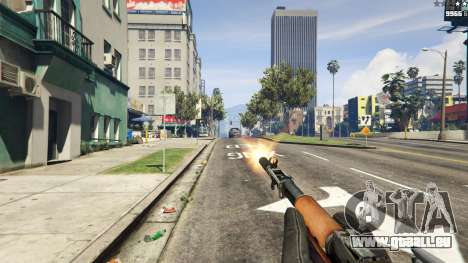 GTA 5 Self-loading-Karabiner Simonow vierten Screenshot