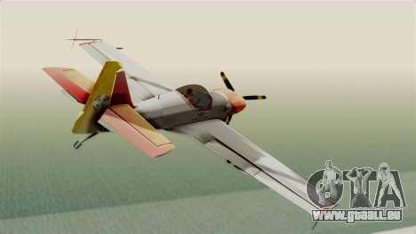 Zlin Z-50 LS v5 pour GTA San Andreas vue de droite