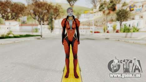 Mass Effect 2 Samara Red für GTA San Andreas zweiten Screenshot