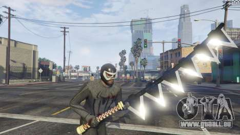GTA 5 Amazing Spiderman - black suit huitième capture d'écran