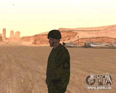 Privé d'infanterie motorisée de troupes pour GTA San Andreas cinquième écran