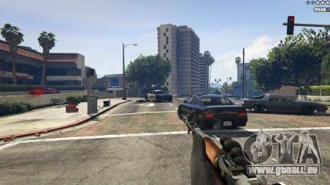 Self-loading-Karabiner Simonow für GTA 5