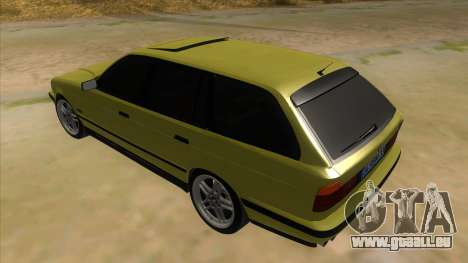 BMW M5 E34 Touring für GTA San Andreas zurück linke Ansicht