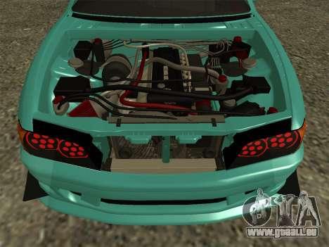 Toyota Chaser JZX100 pour GTA San Andreas vue de droite