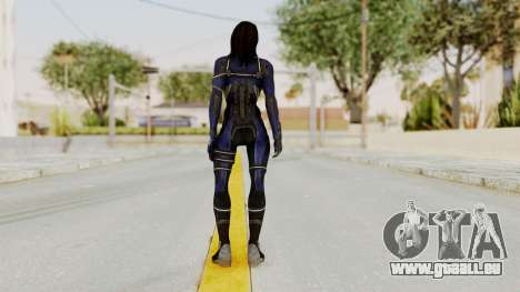 Mass Effect 3 Ashley Williams Ashes DLC Armor pour GTA San Andreas troisième écran