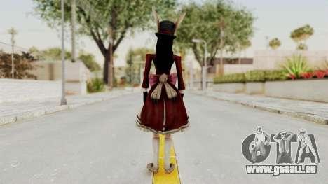 Alice LBL Madness Returns pour GTA San Andreas troisième écran