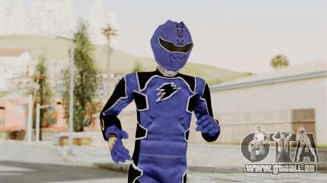 Power Rangers Jungle Fury - Blue pour GTA San Andreas