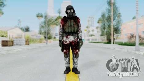 Black Mesa - Wounded HECU Marine v2 für GTA San Andreas zweiten Screenshot