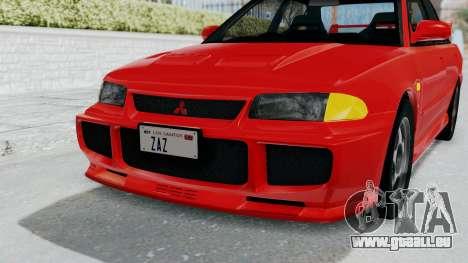 Mitsubishi Lancer Evolution III 1996 (CE9A) für GTA San Andreas obere Ansicht