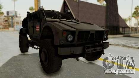 Croatian Oshkosh M-ATV Desert pour GTA San Andreas