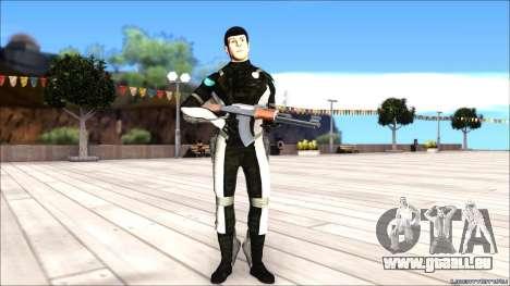 Star Trek Spock pour GTA San Andreas deuxième écran