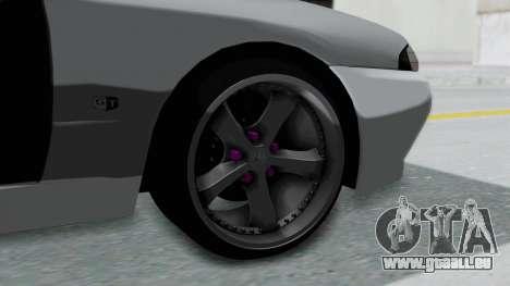 Nissan Skyline R32 Drift (H.A.R) für GTA San Andreas zurück linke Ansicht
