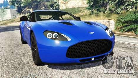Aston Martin V12 Zagato für GTA 5